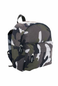 SOLS Unisex Rider Backpack Camouflage ONE