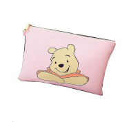 Winnie the Pooh Pink Clutch/ Shoulder Bag , Purse with Zipper