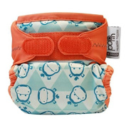 Close Pop-In Single Nappy Bamboo New Print Hippo