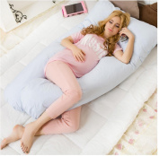Multifunction Cosy Comfort Total Body Support Pregnancy Maternity Pillow , blue