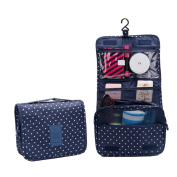SZTARA Multifunction Beauty Travel Cosmetic Wash Bag Makeup Case Make Up Toiletry Bags Pouch Portable Navy Blue