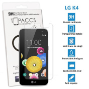 LG K4 - Real Glass Screen Protector Tempered Glass Ultra Durable Screen Protector