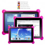 Colour Dreams® Universal protective soft silicone Sleeve Pouch Case cover. Ultra Light Weight Shock Proof protective cover case. Compatible with pc tablets of any size and brand. The perfect case for children or adults tablets. The same case for all si ..