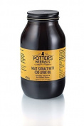 Potters Malt Extract & Cod Liver Oil 650g