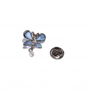 Pin de Bisuteria Butterfly Shaped Butterfly with Crystals