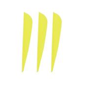 100PCS 10cm Plastic Arrow Vane TPU Fletching For DIY Arrow Archery Bow