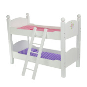 """Olivia's Little World TD-0095A 46cm """"Little Princess Doll Furniture"""" Double Bunk Bed"""