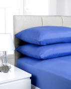 HBS Supreme Soft Non Iron Percale Polycotton Double Fitted Sheet