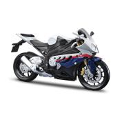 Mc Bmw S1000rr Diecast 1:12 Scale Assemble Creative Model Kit Kids Motorbike Toy