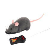 ROSENICE Electronic Remote Control Rat Plush Mouse Toy for Cat Dog Kid