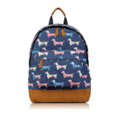 SALE - Childrens Designer Style Canvas Print Backpack Bag - JC Kids 'Back to School' Collection