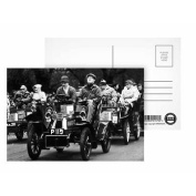 Car Rally - Postcard (Pack of 8) - 15cm x 10cm - Art247 Highest Quality - Standard Size - Pack Of 8