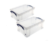 Really Useful Storage Box 9 Litre Pack of 2 - Colour