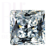 Be You White Cubic Zirconia AAA Quality 4x4 mm Princess Cut Square Shape 100 pcs loose gemstone