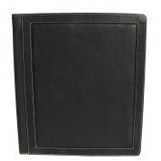 Piel Leather Three-Ring Binder Folder