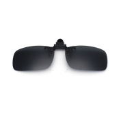 Cyxus Polarised Mirrored Lenses Classic Sunglasses Clip-On Glasses [Anti-glare] [UV Protection] Driving/Fishing Eyewear, Men & Women