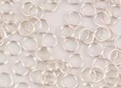 Pack of 100 Split Rings 6mm Silver Plated