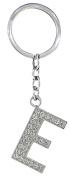 BB Accessories Diamante Alphabet Letter Keyring - E