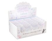 Traditional Paper Shapes Wedding Throwing Confetti (24 Packs) Sprinkled with Love