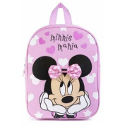 Sambro Minnie Mouse Backpack with 3D Bow