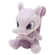 Pocket Monster Pokemon Mewtwo Plush Dolls Toys 15cm