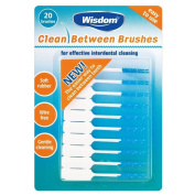Wisdom Clean Between Interdental Brushes (20) - Pack of 2