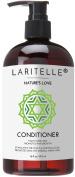 Laritelle Organic Conditioner 470ml   Organic Macadamia + Keratin + Follicle Stimulating Rosemary, Ginger & Grapefruit   Fortifying Hair Growth Formula   NO GMO. Vegan
