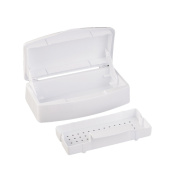 ACE New Nail Steriliser Tray Disinfection Pedicure Manicure Box Nails Art Boxes Sterilising Salon Tools