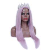 7A 150 Density Purple Straight Human Hair Lace Front Wigs Brazilian Human Hair Wigs Full Lace Wigs For Women