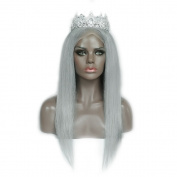 7A 150 Density Brazilian Grey Wigs Human Hair Lace Front Wigs Human Hair Wigs Full Lace Wigs Straight Hair For Woman