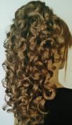 RIVA Banana Clip Hairpiece by Mona Lisa - 14 Golden Ash Brown