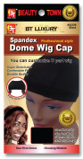 Beauty Town Luxury Spandex Dome Wig Cap Professional Style Black Number 02229