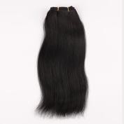 Wigsroyal 2 Bundles Indian Remy Yaki Straight Hair 36cm ,120ml/Bundle,1# Colour