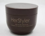 HerStyler - Argan Oil Hair Mask, 18 fl.oz / 500 ml - 2 Pack