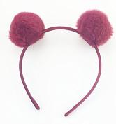 Pom-pom headbands.
