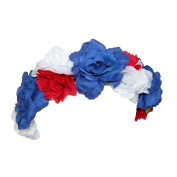 David & Young Womens American Flower Crown Hairband