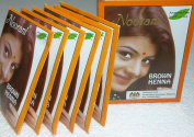 Noorani Brown Henna for Hair 6 X 10 Gms