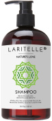 Laritelle Organic Shampoo 470ml | Organic Quinoa + Keratin + Follicle Stimulating Rosemary, Ginger & Grapefruit | Hair Loss Prevention, Clarifying, Softening, Strengthening | NO GMO. Vegan