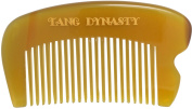 TANG DYNASTY® No Static 100% Handmade Natural Fine Pocket Ox Horn Comb With Gift Box 049