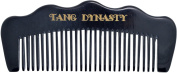 TANG DYNASTY® No Static 100% Handmade Natural Pocket Fine Black Ox Horn Comb With Gift Box 046