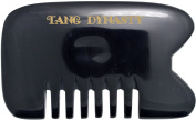 TANG DYNASTY® No Static 100% Handmade Natural Black Ox Horn Comb Hair Pick With Gift Box 044