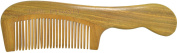 TANG DYNASTY® No Static 100% Handmade Natural Fine Sandalwood Wood Comb With Gift Box 041