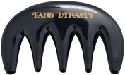 TANG DYNASTY® No Static 100% Handmade Natural Black Ox Horn Comb Hair Pick With Gift Box 036