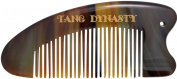 TANG DYNASTY® No Static 100% Handmade Natural Fine Ox Horn Comb With Gift Box 026
