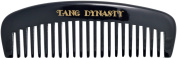 TANG DYNASTY® No Static 100% Handmade Natural Width Black Ox Horn Comb With Gift Box 023