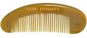 TANG DYNASTY® No Static 100% Handmade Natural Fine Yellow Ox Horn Comb With Gift Box 014