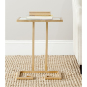 Safavieh Home Collection Murphy Gold Accent Table
