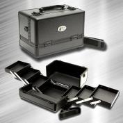 ZEN Deluxe Black Makeup Case / Organiser / Cosmetic Case
