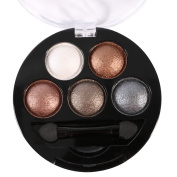 Sungpunet 5colors Makeup Powder Set Shimmer Glitter EyeShadow Palette
