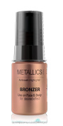 Luminess Air Airbrush Metallics Makeup, Shimmer Bronzer, 0.25 Fluid Ounce